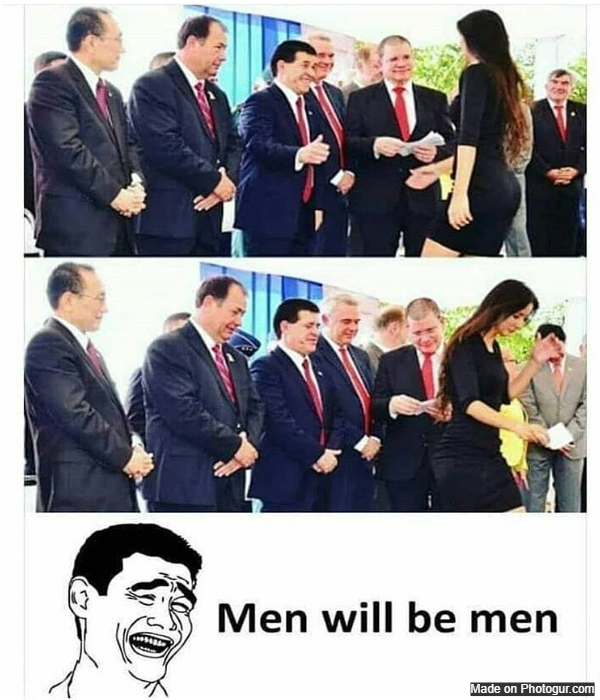 Men will be men
